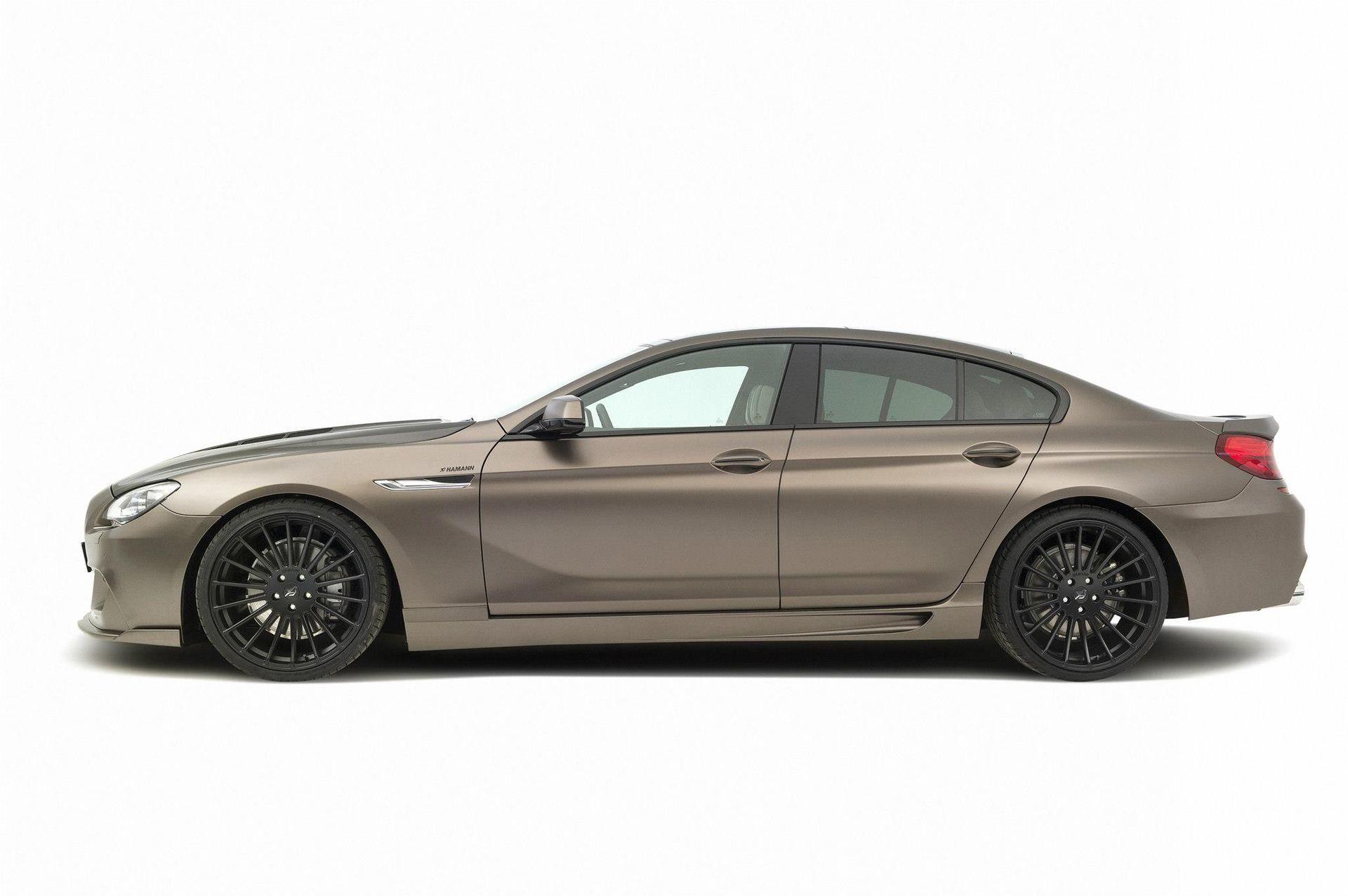 Карбоновые накладки на пороги Hamman Style для BMW 6er