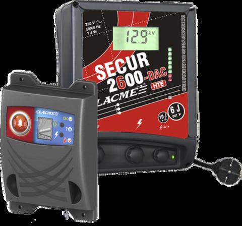 Электропастух Лакме Secur 2600 DAC HTE с дисплеем и  транспондером, фото