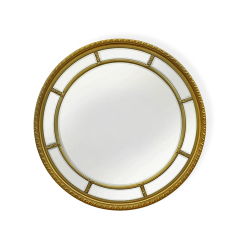 Зеркало дизайнерское 345702 by Light Room (золотой)