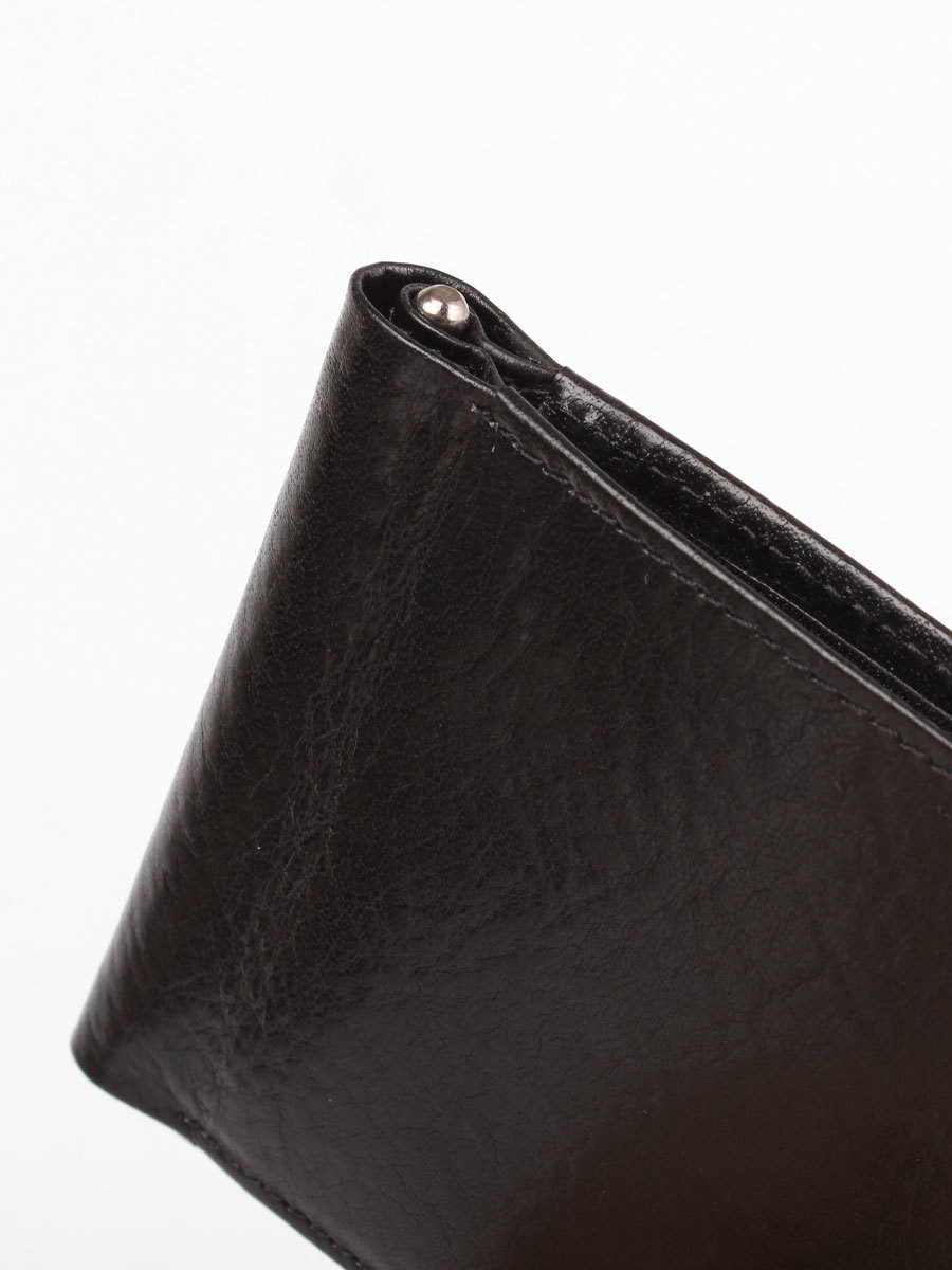 B120356R Preto - Зажим для купюр с монетником и RFID защитой MP