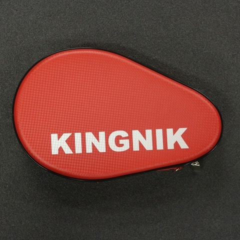 Жесткий чехол для 2-х ракеток Kingnik (красный)