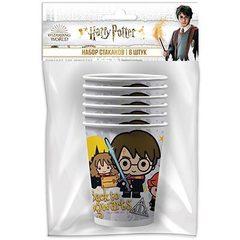 Набор стакан Гарри Поттер Чиби 250мл6шт