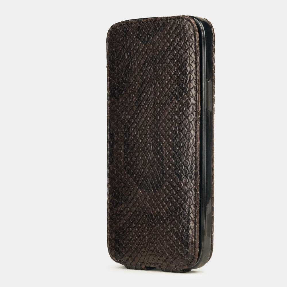 Case for iPhone 12 Pro Max - python brown