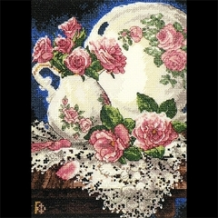 DIMENSIONS Розы и кружева (Lace and Roses)