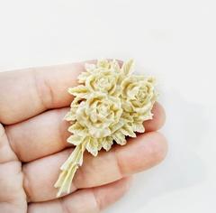 Д0554 Пластиковый декор Букет роз