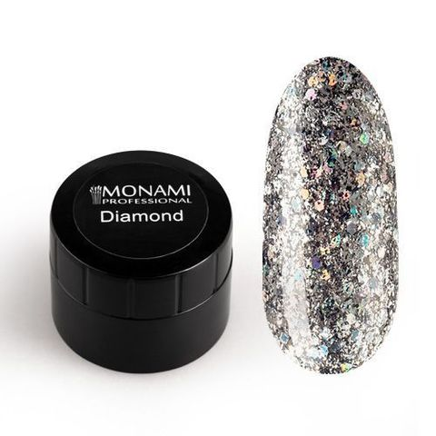 MONAMI Гель-лак Diamond Milky Way