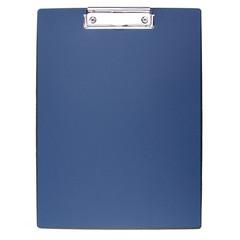 Папка-планшет Attache A4 пластиковая синяя без крышки