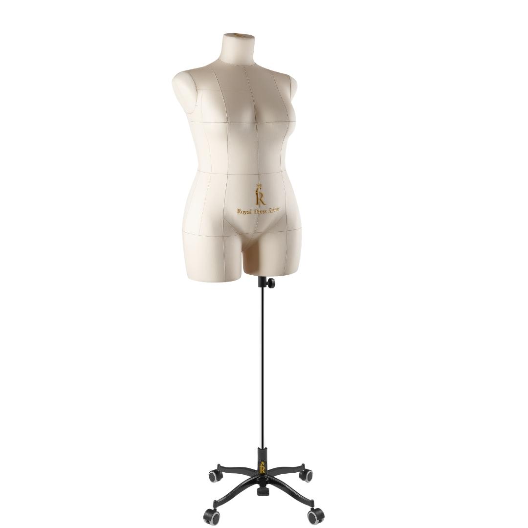 Манекен портновский Моника, комплект Стандарт, размер 50, БежеваяФото 1