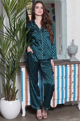 Атласная пижама классического покроя Mia-Mella Antuanetta