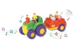 KEENWAY  Трактор и трейлер(музыкальные) (31222)