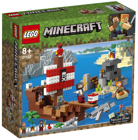 LEGO  konstruktor Adventure On The Pirate Ship