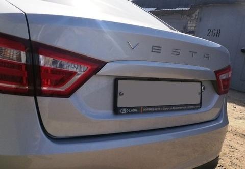 Орнамент VESTA в стиле Porsche (хром)