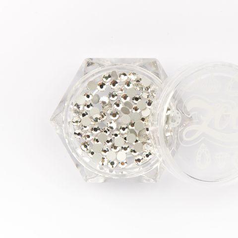 Стразы стеклянные прозрачные SS8 (2,5 мм) 100 шт (1083)