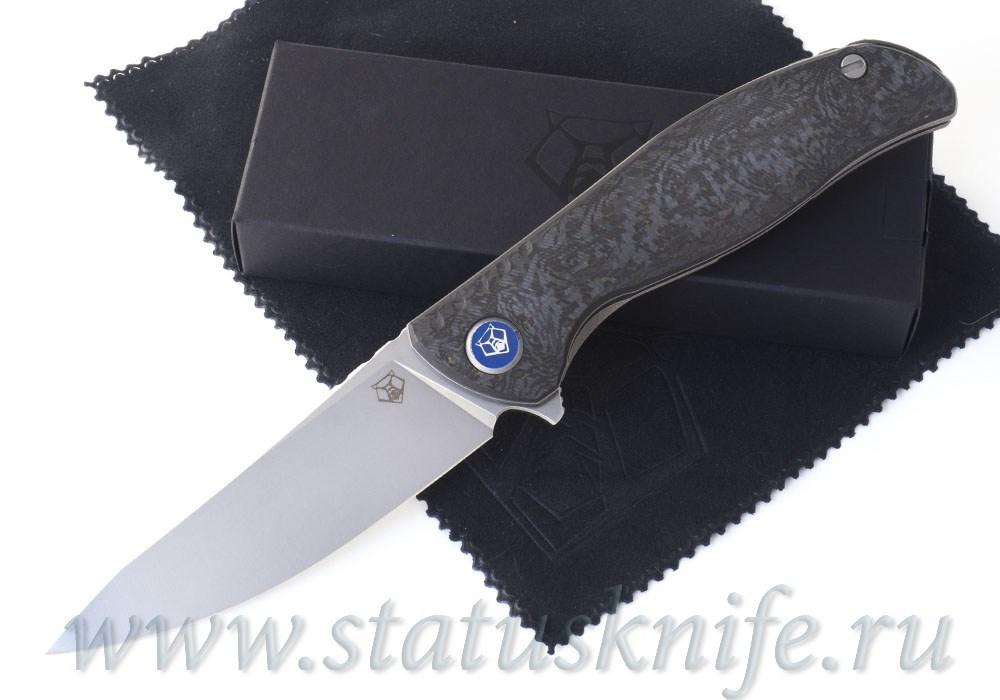 Нож Широгоров F3 NS M390 Ф3 Bronze CF 3D подшипники