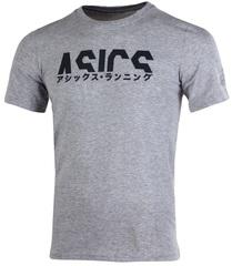 Футболка беговая Asics Katakana Graphic Tee Grey мужская