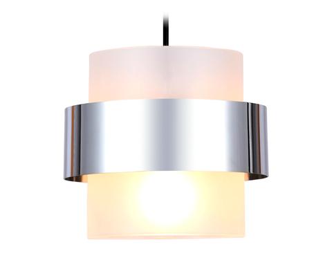 Подвесной светильник со сменной лампой TR3644 CH/FR хром/матовый E27 max 40W D180*950