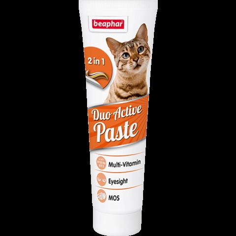 Купить бефар Beaphar Duo Active Pasta мультивитаминная паста для кошек