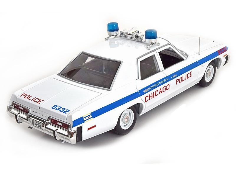 Коллекционная модель Dodge Monaco Chicago Police 1974