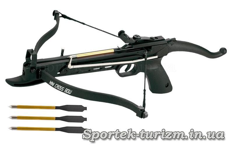 Арбалет-пістолет рекурсивний Man Kung MK-80A4PL