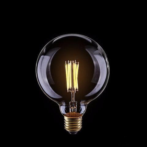 Светодиодная ретро лампа Эдисон G125 LED 8W E27