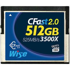 Карта памяти Wise 512GB CFast 2.0 525MB/s VPG-130