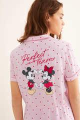 Піжама сорочкового типу «Міккі Маус і Мінні Маус»