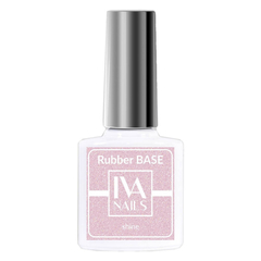 Rubber Base Shine №4, IVA NAILS, 8мл.