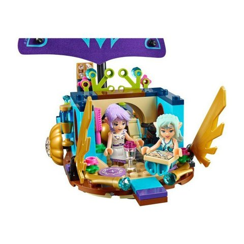 LEGO Elves: Корабль Наиды 41073 — Farran and the Crystal Hollow Naida's Epic Adventure Ship — Лего Эльфы