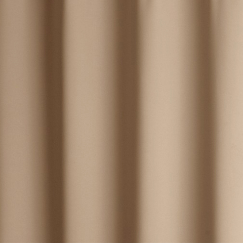 Портьерная ткань блэкаут экрю. Арт. BL-14-01