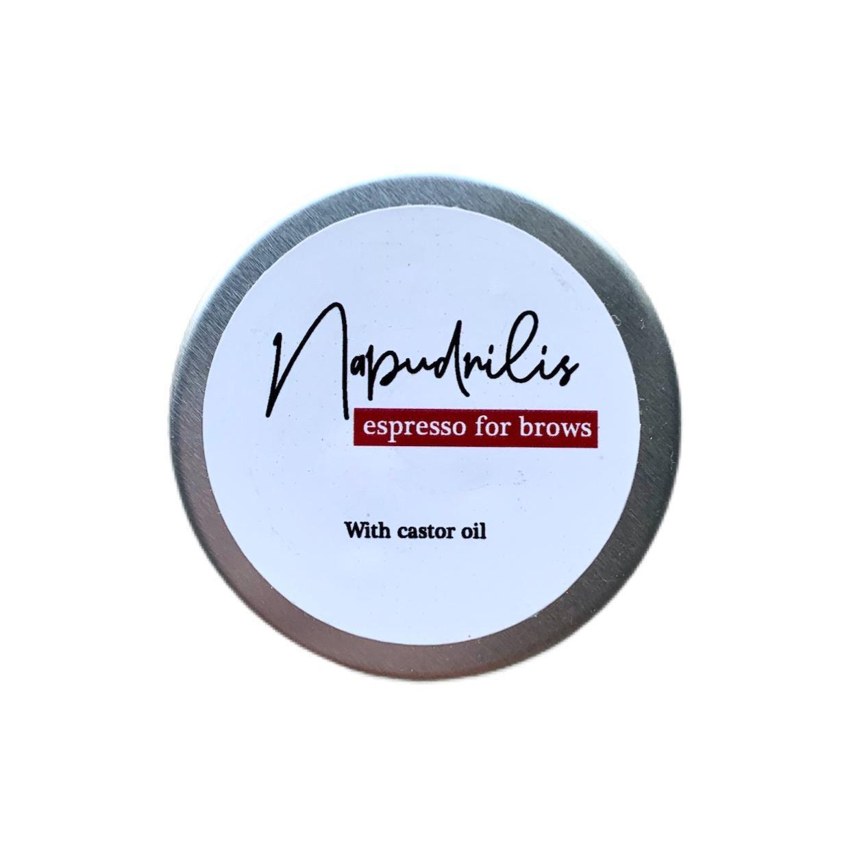 Мыло для бровей Napudrilis Espresso For Brows