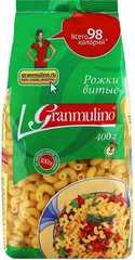 Макаронные изделия  Granmulino  рожки витые 400г