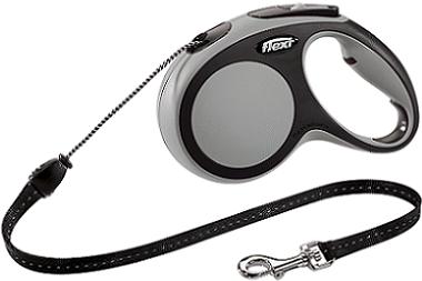 Рулетки Поводок-рулетка Flexi New Comfort М (до 20 кг) трос 5 м черный/серый 91c44980-3795-11e6-80f8-00155d29080b.png