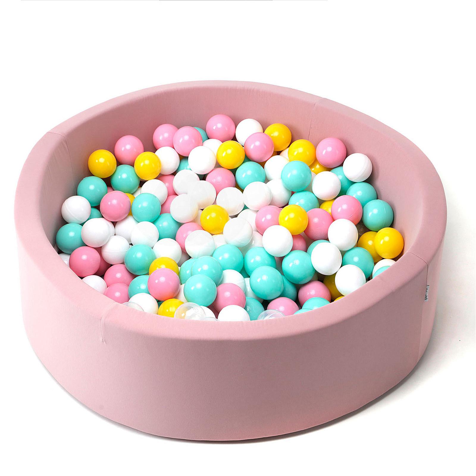 "Сухой Бассейн ""Pink Flower"" 100см"