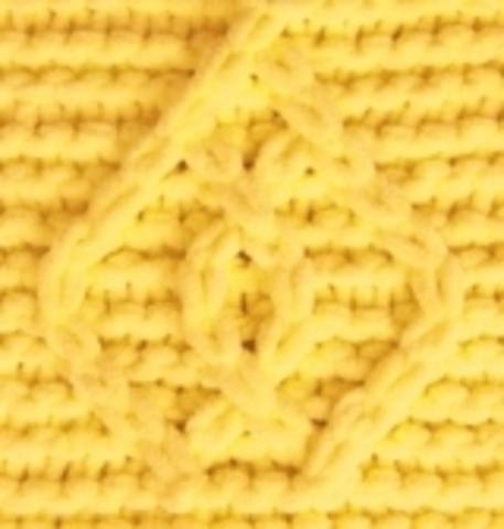 Пряжа Puffy Fine Alize 113 Желтый, картинка