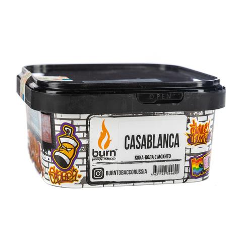 Табак Burn Casablanca (Кола, Мохито) 200 г