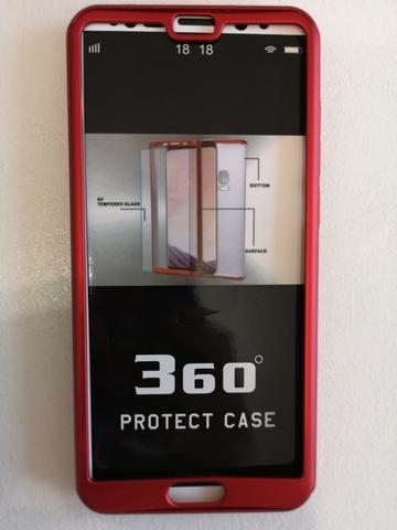 Чехол для Huawei P20 pro Protect case 360 красный