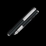 Перьевая ручка Carandache Madison Bicolor Black SP (F) латунь посеребрение с родиевым напылением (4690.446)