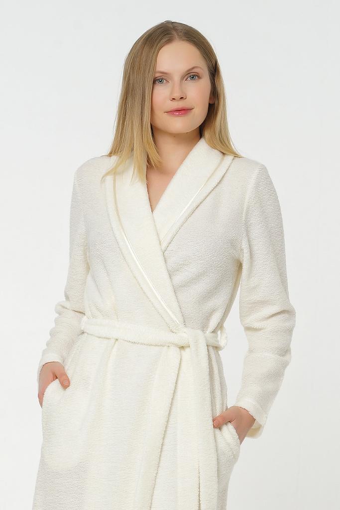 Махровый халат с шерстью B&B