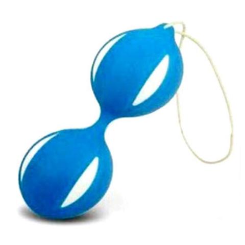Вагинальные шарики сине-белые 47073-MM
