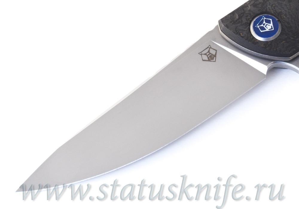 Нож Широгоров F3 NS M390 Ф3 Bronze CF 3D подшипники - фотография