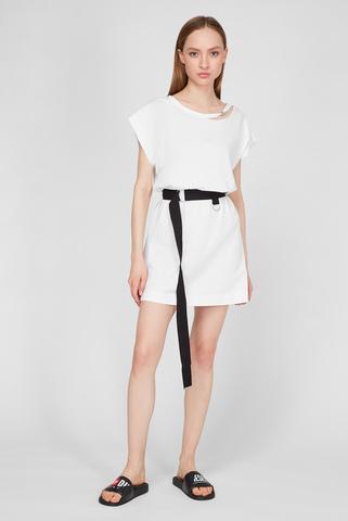 Женское белое платье D-EASY DRESS Diesel