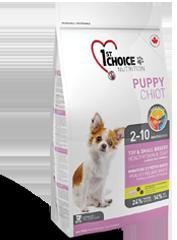 Корм для щенков декоративных и мелких пород, 1st Choice Puppy, с ягненком и рыбой