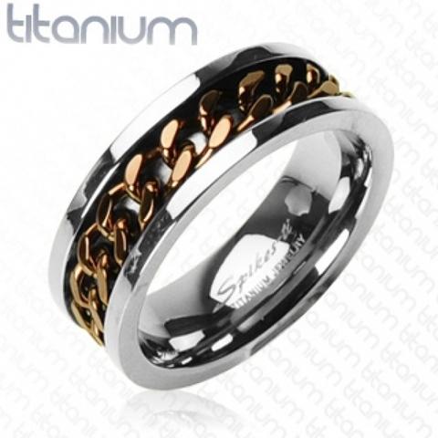 Кольцо, Титан, SPIKES R-TI-0153B