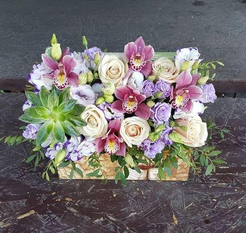 Ящик с цветами Весенний 15