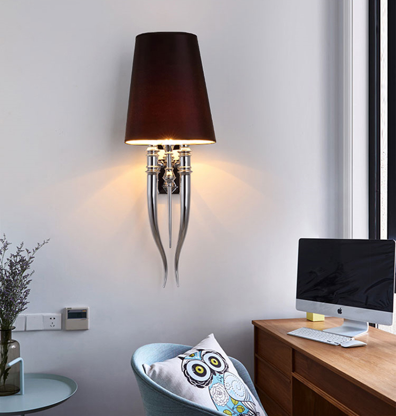 Настенный светильник копия Brunilde by Ipe Cavalli H92 (красный)