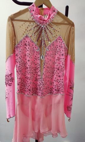 Платье со стразами б/у, рост 152 см