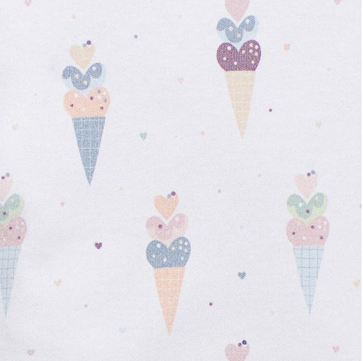 Боди-лодочка мороженое