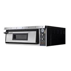 ITPIZZA Печь для пиццы ML4  ( 1005х970х415мм, 6кВт, 380В)  кам. 720х720х140мм