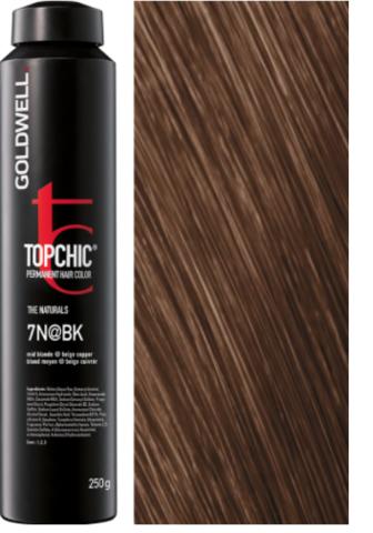 Goldwell Topchic 7N@BK - средний блонд с бежево-медным сиянием (осенний блонд) TC 250ml