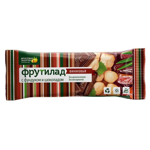 Батончик Фрутилад с Фундуком и шоколадом 42г